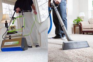 hybrid carpet cleaning