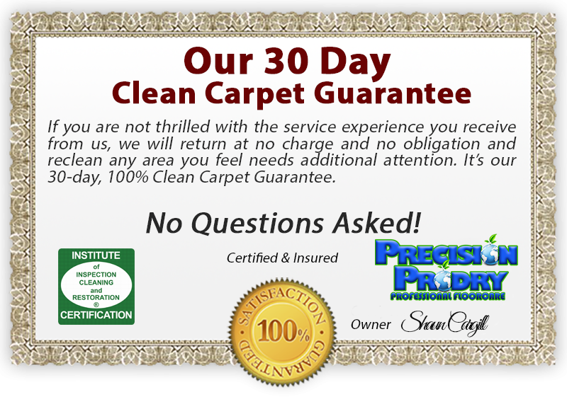 Lake County Florida Dry Carpet Cleaning